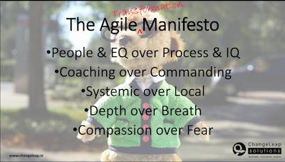 Agile Transformation Manifesto
