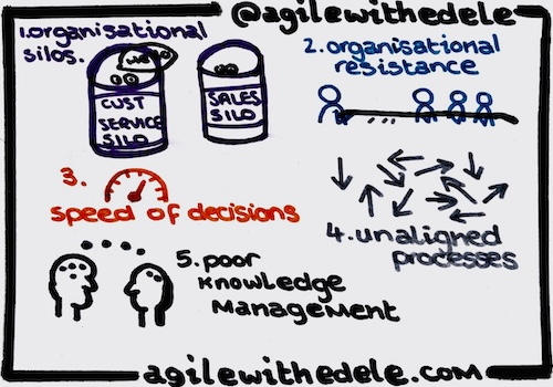Top Obstacles to Organisational Agility